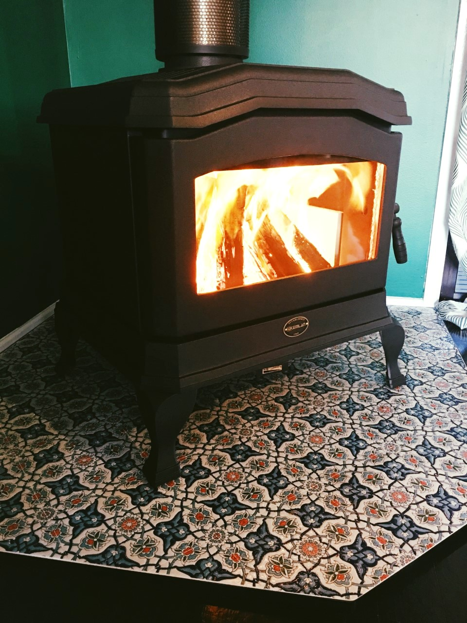 Kemlan C24 Wood Heater - Custom Hearth