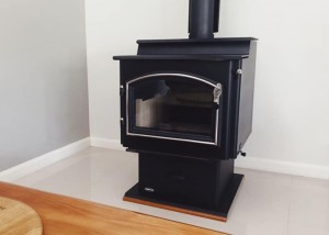 Quadra-Fire 5700 Installed by Orlik Heating