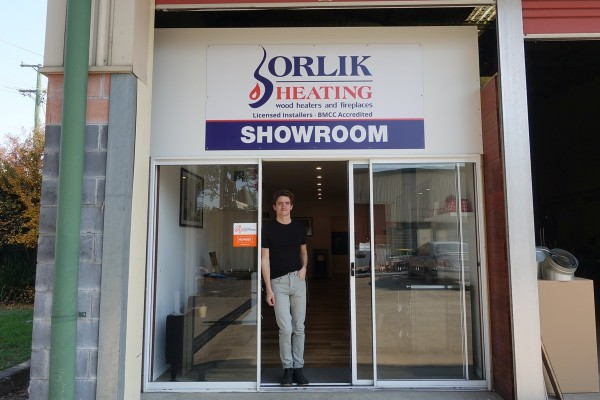 Orlik Heating Showroom - Wood and Gas - Emu Plains