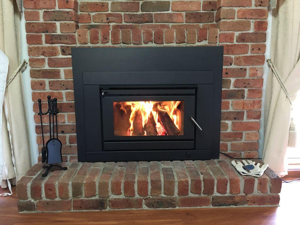 Blaze B800 Wood Heater Installation