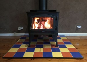 Lopi Republic 1750 with a Custom Hearth