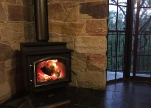 Quadra-fire 3100 Step Top installed in Blaxland