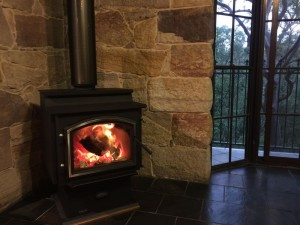 Quadra-fire 3100 Step Top installed in Blaxland