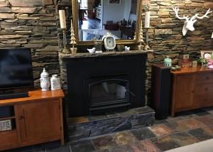 Quadra-fire Voyager Grand installed in Blaxland
